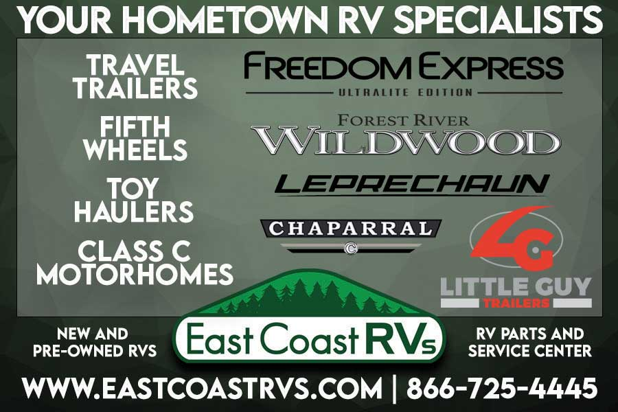 """<center>East Coast RVs   <b><a href=""""https://www.eastcoastrvs.com"""" target=""""_blank"""" rel=""""noopener noreferrer"""">CLICK HERE to view the website</a></b></center>"""