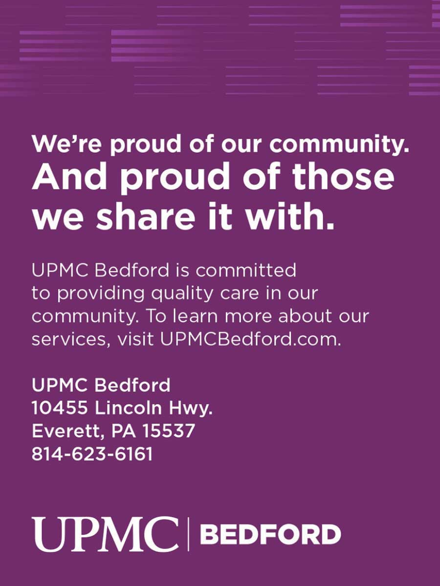 """<center>UPMC Bedford   <b><a href=""""https://www.upmc.com"""" target=""""_blank"""" rel=""""noopener noreferrer"""">CLICK HERE to view the website</a></b></center>"""