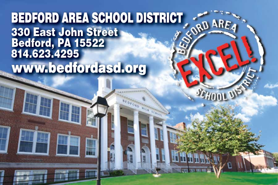 """<center>Bedford Area School District   <b><a href=""""https://www.bedfordasd.org"""" target=""""_blank"""" rel=""""noopener noreferrer"""">CLICK HERE to view the website</a></b></center>"""
