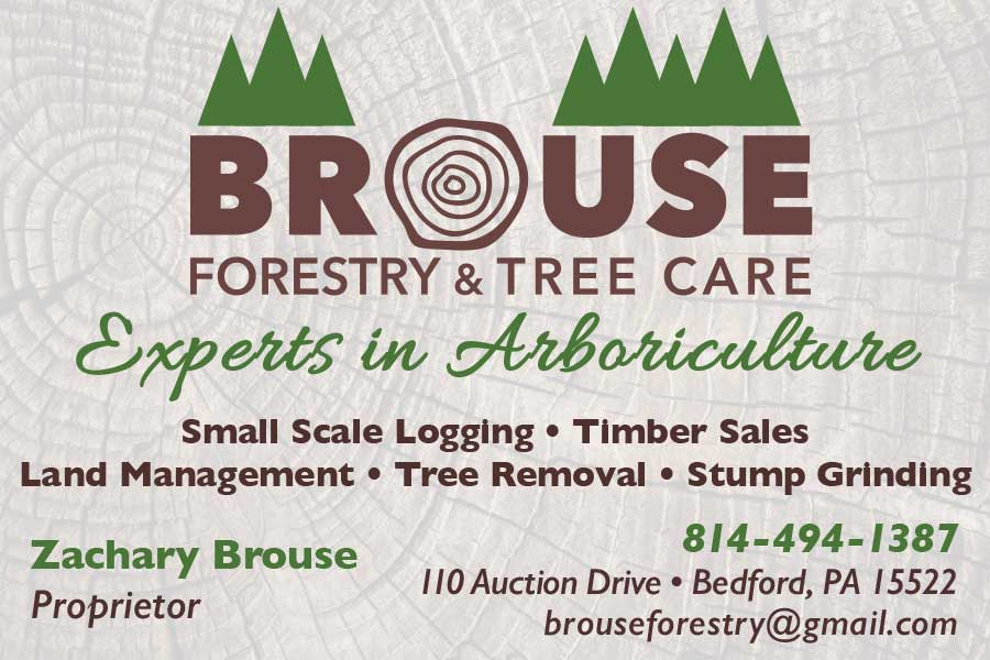 """<center>Brouse Forestry & Tree Care   <b><a href=""""https://www.facebook.com/Brouse-Forestry-and-Tree-Care-521024741592329/"""" target=""""_blank"""" rel=""""noopener noreferrer"""">CLICK HERE to view the website</a></b></center>"""