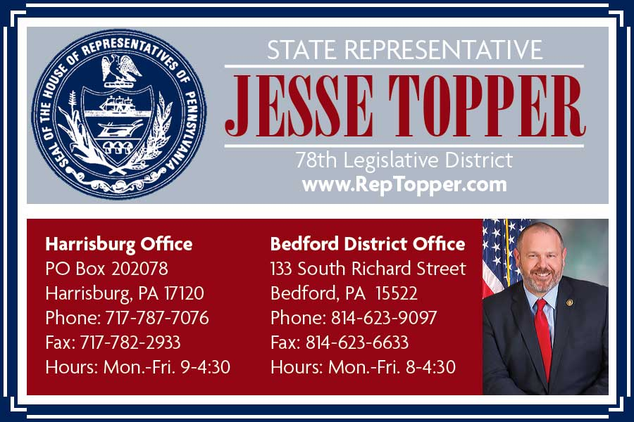 """<center>State Representative Jesse Topper   <b><a href=""""http://www.reptopper.com"""" target=""""_blank"""" rel=""""noopener noreferrer"""">CLICK HERE to view the website</a></b></center>"""