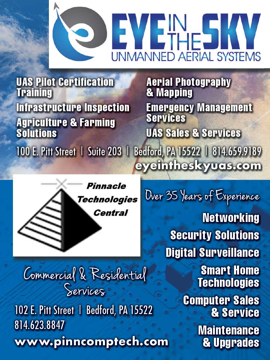 """<center>Eye in the Sky   <b><a href=""""https://eyeintheskyuas.com"""" target=""""_blank"""" rel=""""noopener noreferrer"""">CLICK HERE to view the website</a></b> • Pinnacle Technologies Central   <b><a href=""""http://www.pinncomptech.com"""" target=""""_blank"""" rel=""""noopener noreferrer"""">CLICK HERE to view the website</a></b></center>"""
