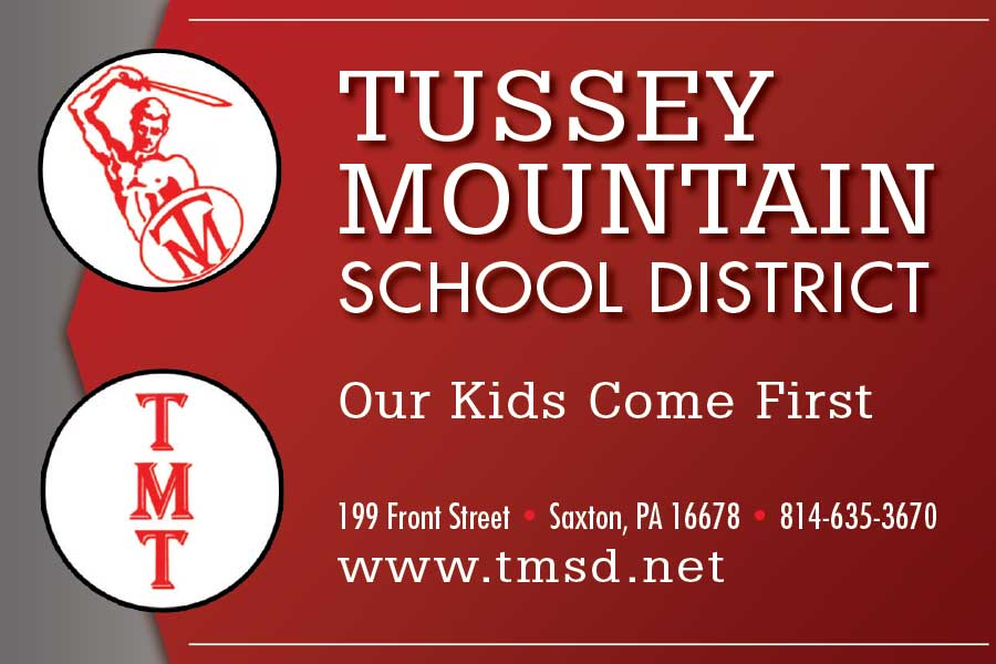 """<center>Tussey Mountain School District   <b><a href=""""https://www.tmsd.net"""" target=""""_blank"""" rel=""""noopener noreferrer"""">CLICK HERE to view the website</a></b></center>"""